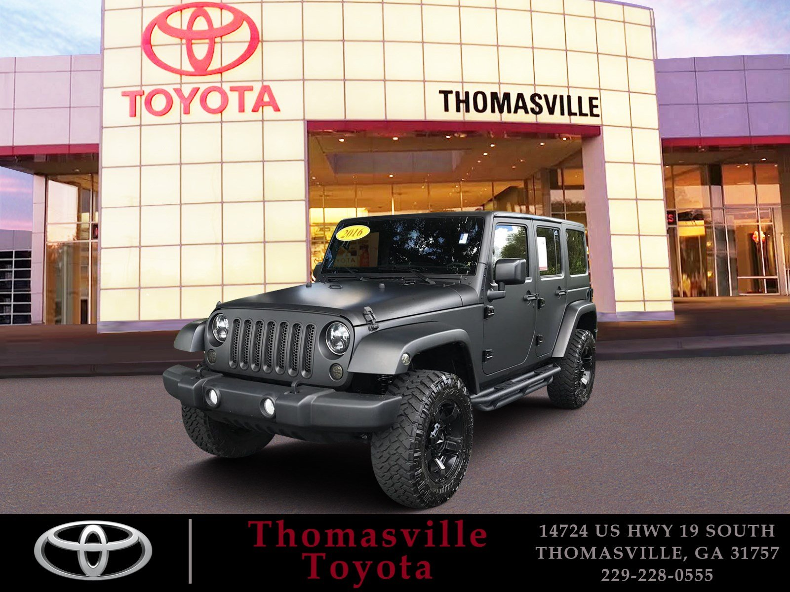 Pre Owned 2016 Jeep Wrangler Unlimited Convertible in Thomasville