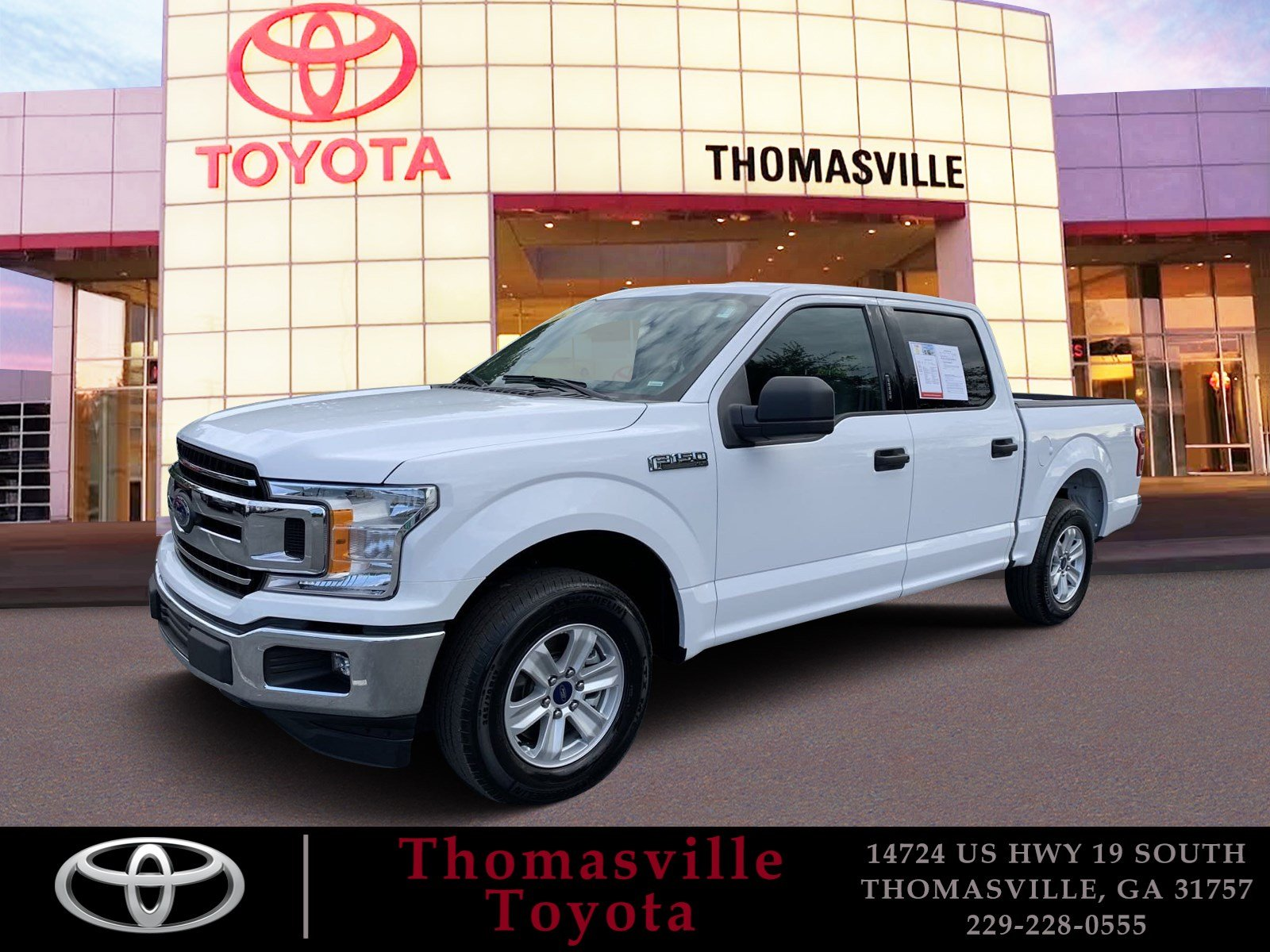 Pre-Owned 2018 Ford F-150 XLT