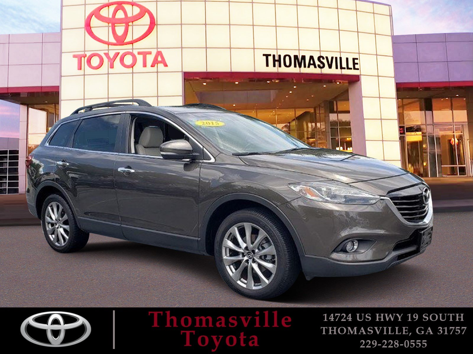 Pre Owned 2015 Mazda CX 9 Grand Touring Sport Utility in Thomasville