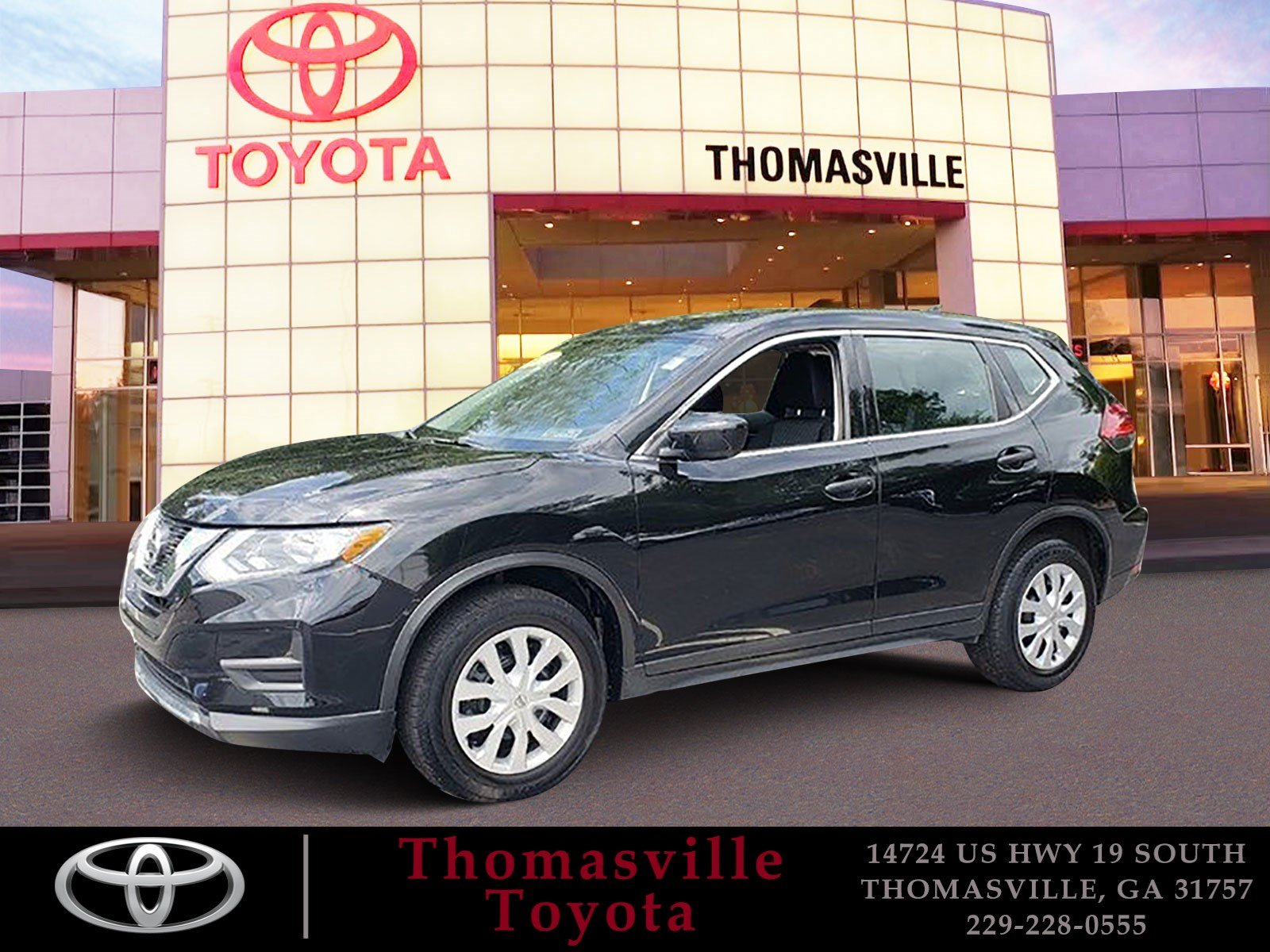 Pre Owned 2017 Nissan Rogue S Sport Utility in Thomasville P5134