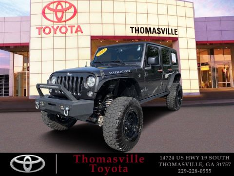 Pre-Owned 2017 Jeep Wrangler Unlimited Unlimited Rubicon