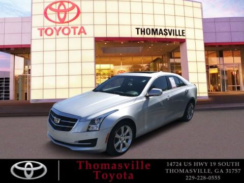 Pre-Owned 2015 Cadillac ATS Sedan 2.0L Turbo Luxury