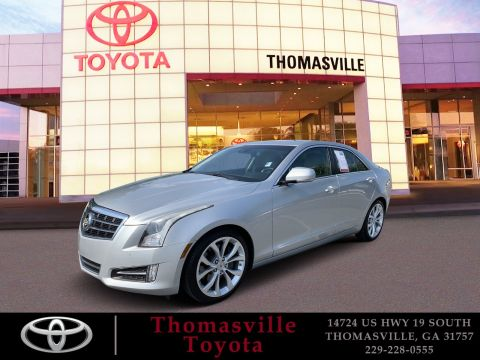 Pre-Owned 2013 Cadillac ATS 2.0L Turbo Premium With Navigation