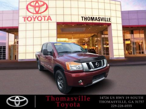 Pre-Owned 2015 Nissan Titan PRO
