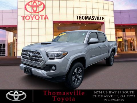 Pre-Owned 2016 Toyota Tacoma TRD Sport RWD Crew Cab Pickup