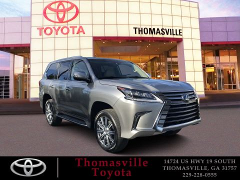 Pre-Owned 2017 Lexus LX 570 With Navigation & 4WD